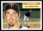 2005 Topps Heritage #358  Joe Nathan  Front Thumbnail
