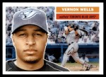 2005 Topps Heritage #252  Vernon Wells  Front Thumbnail