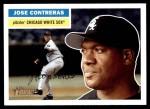 2005 Topps Heritage #277  Jose Contreras  Front Thumbnail
