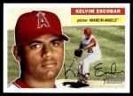 2005 Topps Heritage #363  Kelvim Escobar  Front Thumbnail