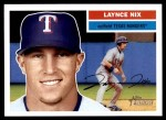 2005 Topps Heritage #344  Laynce Nix  Front Thumbnail