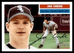 2005 Topps Heritage #206  Joe Crede  Front Thumbnail