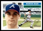 2005 Topps Heritage #364  Marcus Giles  Front Thumbnail