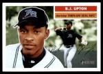 2005 Topps Heritage #287  B.J. Upton  Front Thumbnail