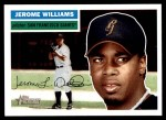 2005 Topps Heritage #348  Jerome Williams  Front Thumbnail