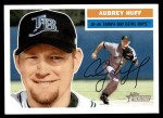 2005 Topps Heritage #214  Aubrey Huff  Front Thumbnail