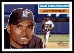 2005 Topps Heritage #262  Juan Encarnacion  Front Thumbnail