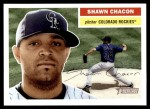 2005 Topps Heritage #209  Shawn Chacon  Front Thumbnail
