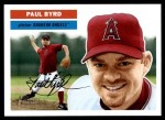 2005 Topps Heritage #202  Paul Byrd  Front Thumbnail