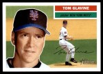 2005 Topps Heritage #248  Tom Glavine  Front Thumbnail