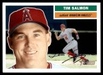 2005 Topps Heritage #388  Tim Salmon  Front Thumbnail