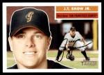 2005 Topps Heritage #393  J.T. Snow Jr.  Front Thumbnail