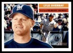 2005 Topps Heritage #335  Lyle Overbay  Front Thumbnail
