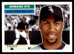 2005 Topps Heritage #249  Jermaine Dye  Front Thumbnail