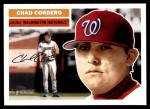 2005 Topps Heritage #357  Chad Cordero  Front Thumbnail