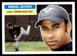 2005 Topps Heritage #237  Miguel Batista  Front Thumbnail