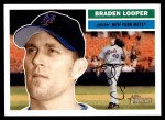 2005 Topps Heritage #356  Braden Looper  Front Thumbnail