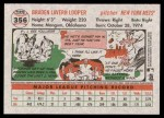2005 Topps Heritage #356  Braden Looper  Back Thumbnail