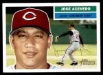 2005 Topps Heritage #391  Jose Acevedo  Front Thumbnail