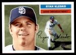 2005 Topps Heritage #218  Ryan Klesko  Front Thumbnail