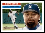 2005 Topps Heritage #330  Dmitri Young  Front Thumbnail