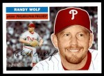2005 Topps Heritage #240  Randy Wolf  Front Thumbnail