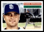2005 Topps Heritage #290  Ramon Hernandez  Front Thumbnail
