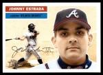 2005 Topps Heritage #383  Johnny Estrada  Front Thumbnail