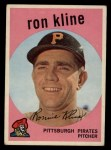 1959 Topps #265  Ron Kline  Front Thumbnail