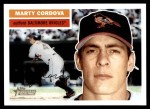 2005 Topps Heritage #275  Marty Cordova  Front Thumbnail
