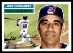 2005 Topps Heritage #334  Jose Hernandez  Front Thumbnail