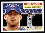 2005 Topps Heritage #215  Brad Fullmer  Front Thumbnail