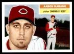 2005 Topps Heritage #278  Aaron Harang  Front Thumbnail