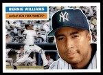 2005 Topps Heritage #223  Bernie Williams  Front Thumbnail