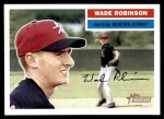 2005 Topps Heritage #309  Wade Robinson  Front Thumbnail