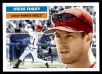 2005 Topps Heritage #311  Steve Finley  Front Thumbnail