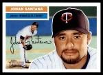 2005 Topps Heritage #296 A J.Santana  Front Thumbnail