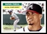 2005 Topps Heritage #304  Rafael Furcal  Front Thumbnail