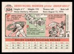 2005 Topps Heritage #324  Jarrod Washburn  Back Thumbnail