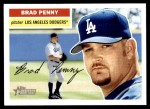 2005 Topps Heritage #235  Brad Penny  Front Thumbnail