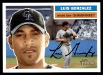 2005 Topps Heritage #263  Luis A. Gonzalez  Front Thumbnail