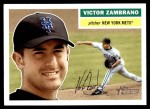 2005 Topps Heritage #338  Victor Zambrano  Front Thumbnail