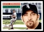 2005 Topps Heritage #371  Dustin Hermanson  Front Thumbnail