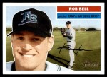 2005 Topps Heritage #246  Rob Bell  Front Thumbnail