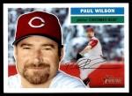 2005 Topps Heritage #265  Paul Wilson  Front Thumbnail