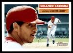 2005 Topps Heritage #268  Orlando Cabrera  Front Thumbnail