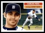 2005 Topps Heritage #210  Carlos Pena  Front Thumbnail
