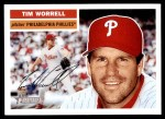 2005 Topps Heritage #258  Tim Worrell  Front Thumbnail