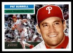 2005 Topps Heritage #222  Pat Burrell  Front Thumbnail