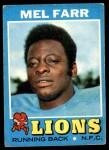 1971 Topps #236  Mel Farr  Front Thumbnail